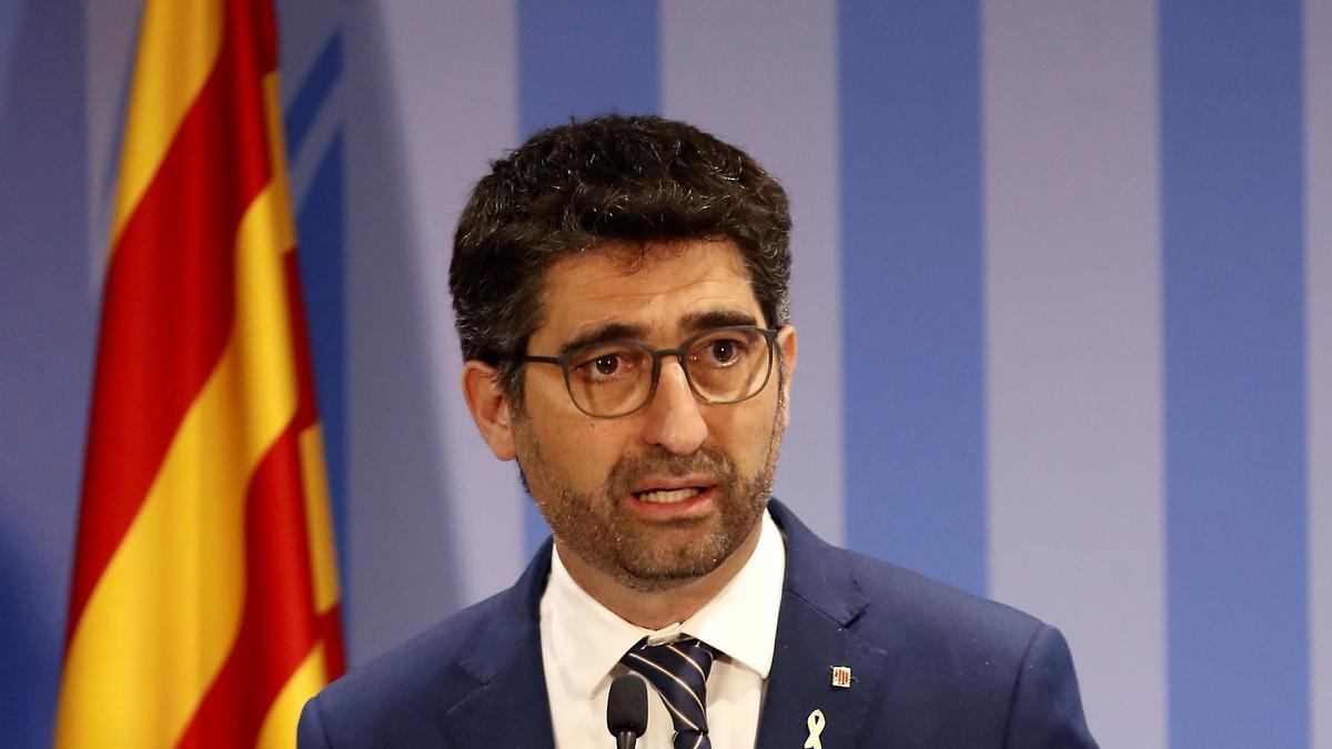 El vicepresidente catalán, Jordi Puigneró. EFE/J.P Gandul/Archivo