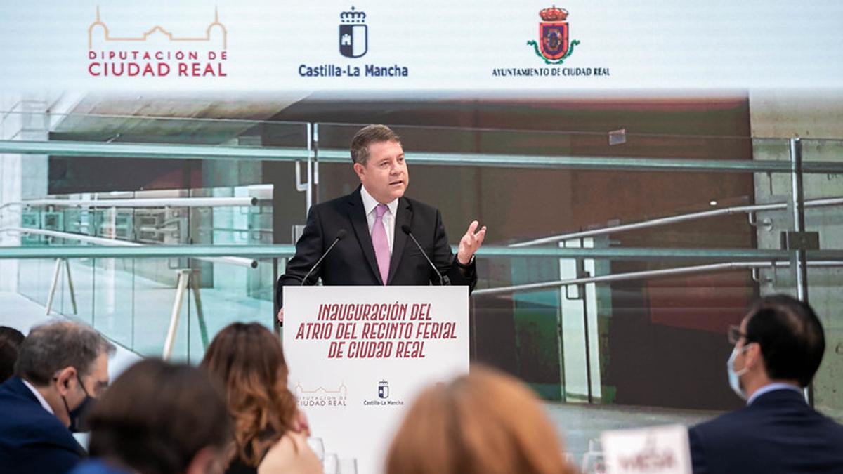 Emiliano García-Page en Ciudad Real