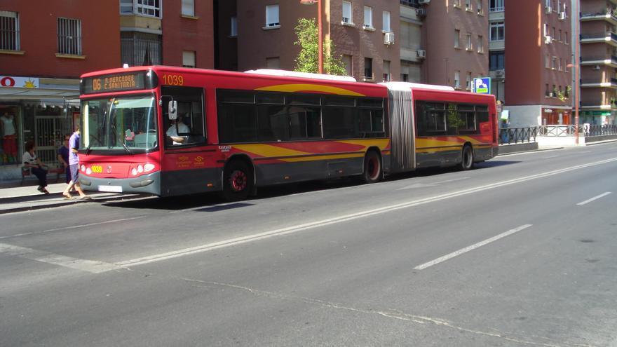 Autobús urbano sevillano