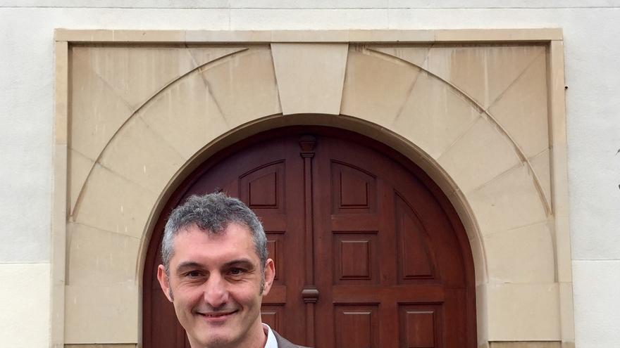 El nuevo Secretario General de Podemos en la Región de Murcia, Óscar Urralburu / MJA
