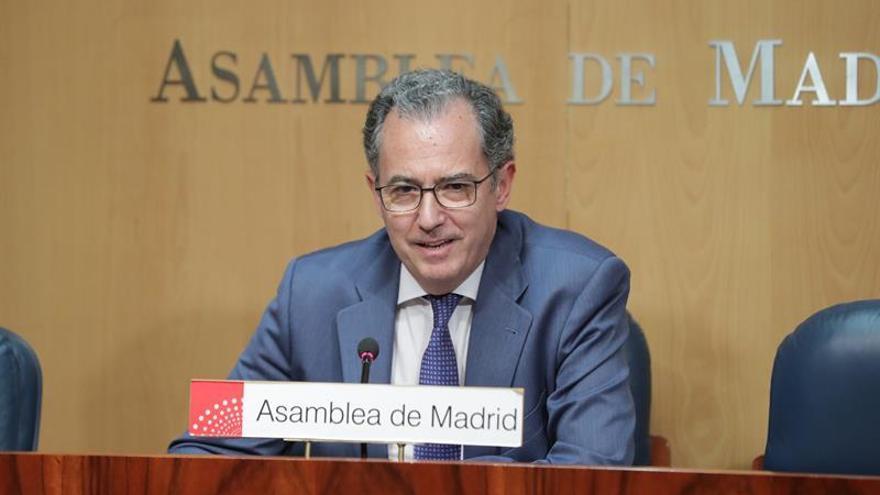 El portavoz del PP en la Asamblea de Madrid, Enrique Ossorio, en una imagen de archivo / EFE
