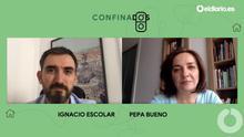 Ignacio Escolar entrevista a la periodista Pepa Bueno.