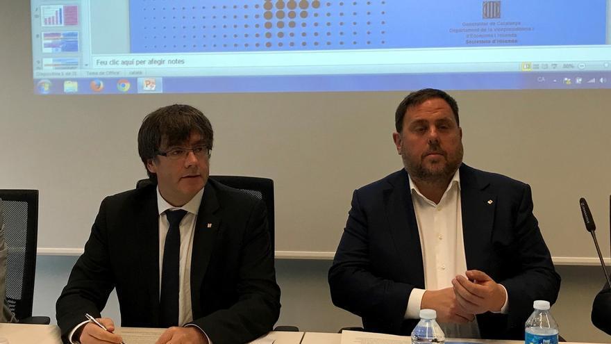 Puigdemont elude aclarar si la ley del referéndum se aprobará esta semana