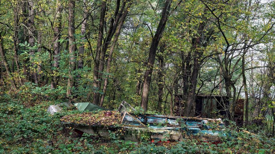 Club de navegación de Prípiat. Octubre del 2012