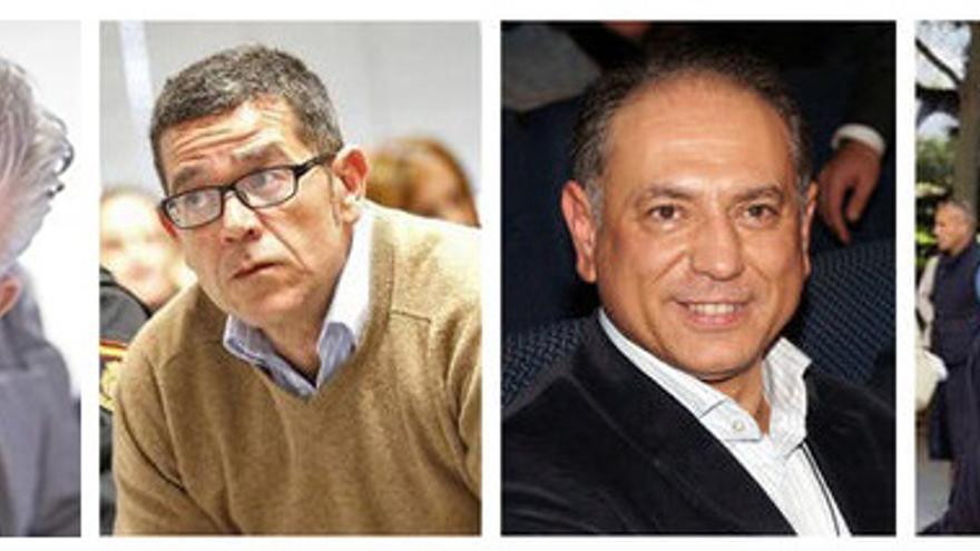 Enrique Arnal, Jorge Roca, Enrique Crespo y Esteban Cuesta.