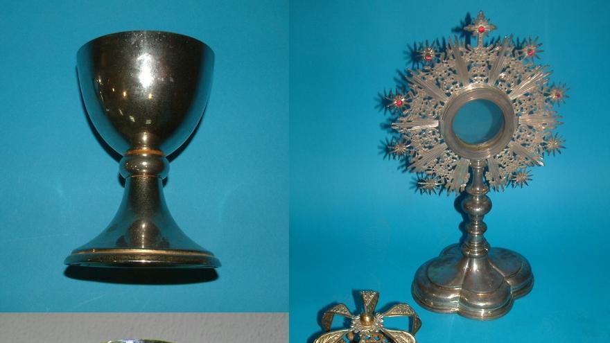 Tres detenidos por robar piezas de oro y plata de la parroquia de Aes (Cantabria)