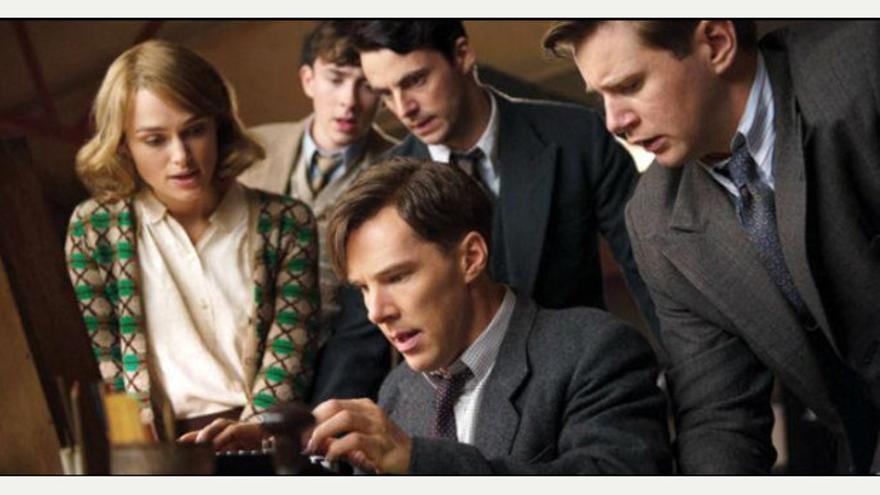 Fotograma de la película 'The imitation game' con Keira Knightley como Joan Clarke. .jpg