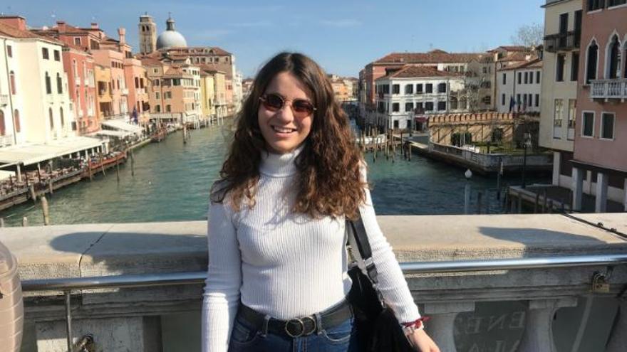 María Cayuela estudia en Roma y trata de mantener la calma para disfrutar de su Erasmus.