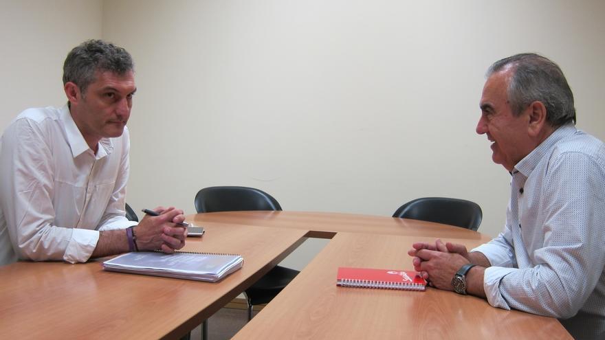 PSOE y Podemos acercan posturas en la Comunidad de Murcia de cara a un posible acuerdo para facilitar la gobernabilidad