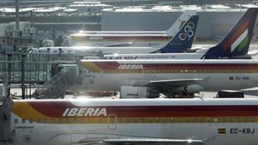 Iberia eleva 2,9 puntos su coeficiente de ocupación en los cinco primeros meses