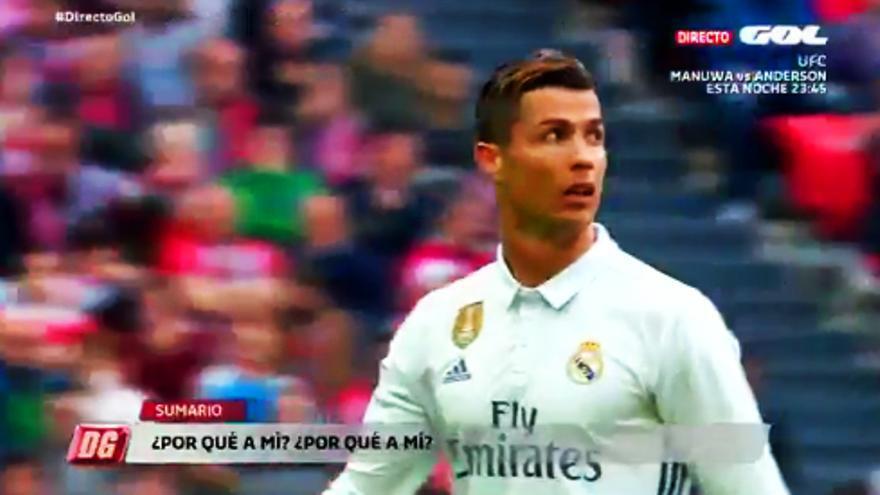 Gol caza un polémico comentario de Cristiano Ronaldo tras ser sustituido