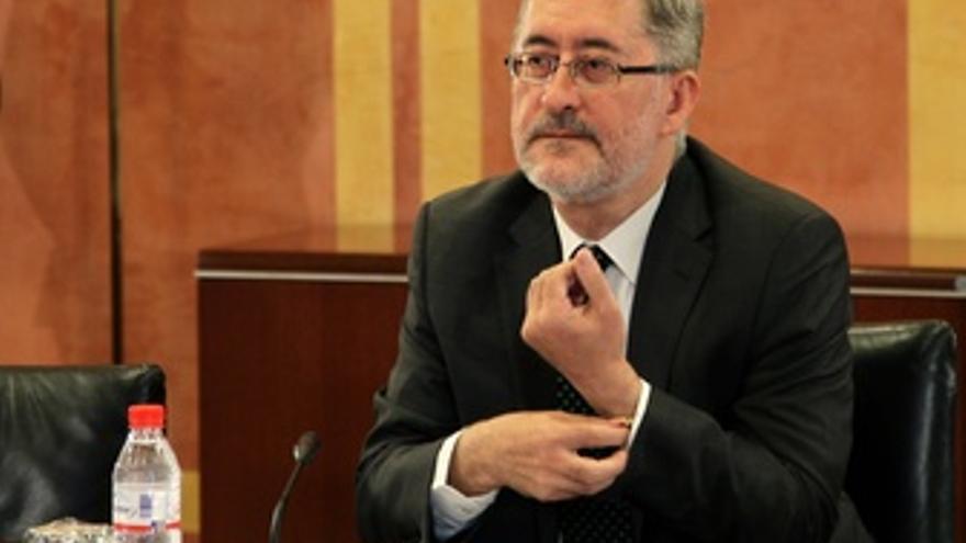 Antonio Ávila, En La Comisión De Invetigación Del Parlamento Andaluz.