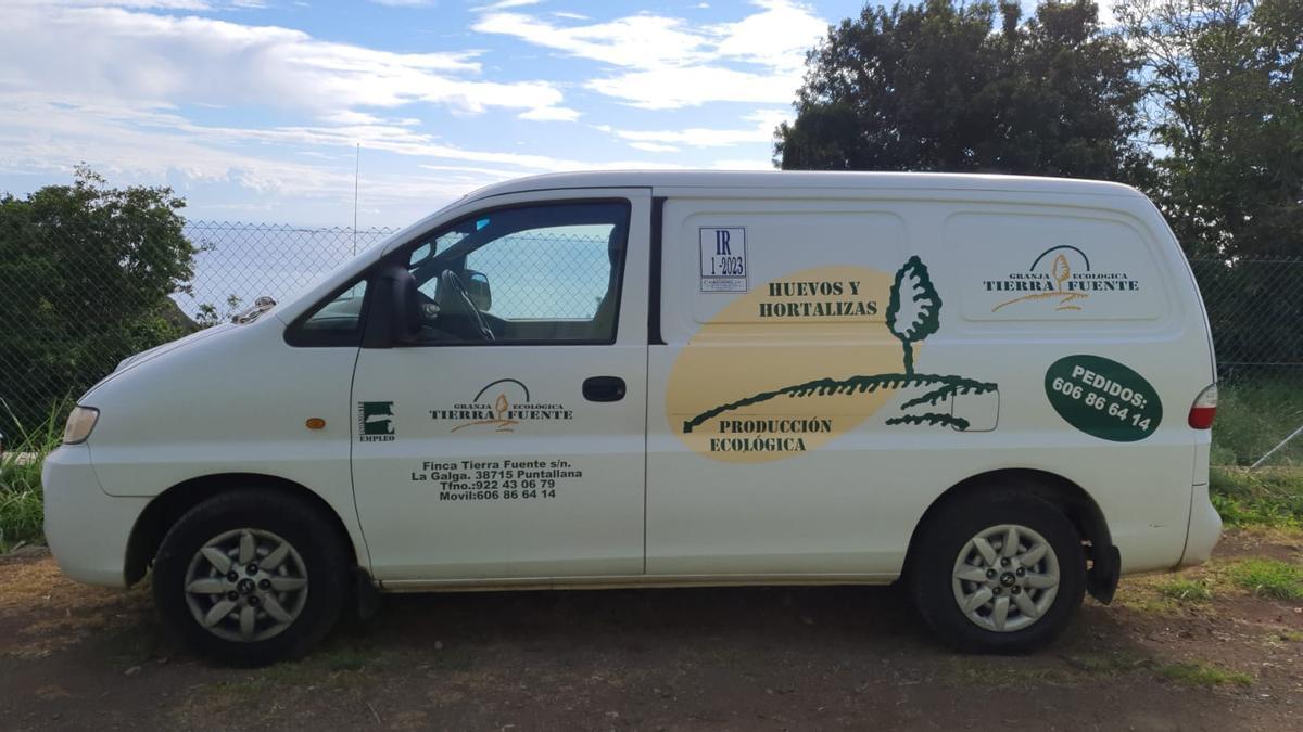Vehículo de la Fundación Isonorte.