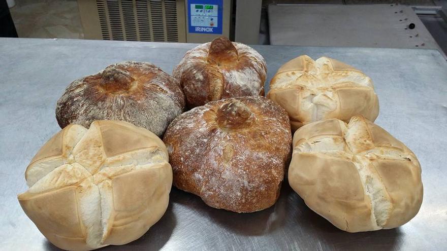 Panes de panadería Sahuquillo