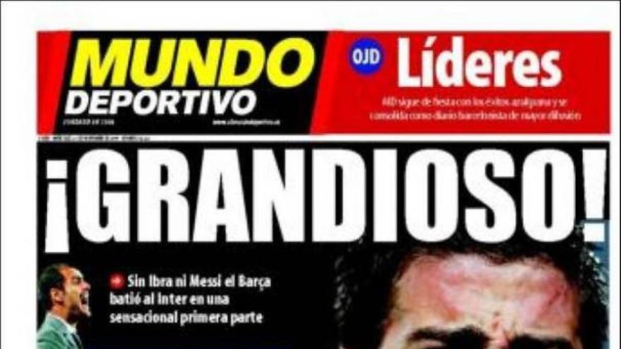 De las portadas del día (25/11/09) #13