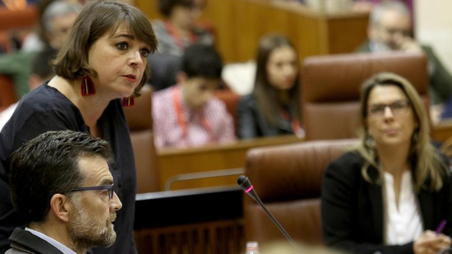 """Susana Díaz prevé un """"éxito"""" con """"gran movilización"""" de la huelga del 8M e IU pide que la Junta no sea """"contrapiquete"""""""