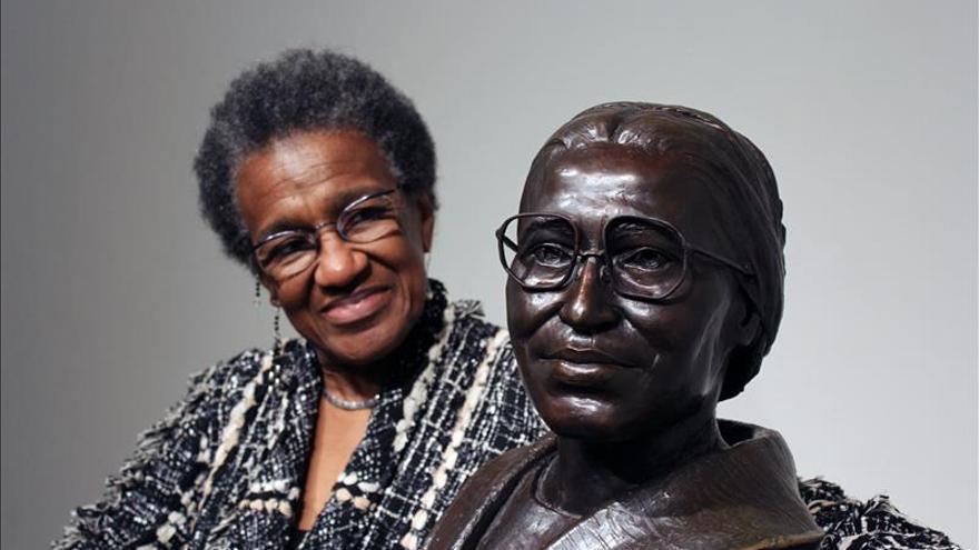 La directora del museo Rosa Parks en Montgomery, Alabama.