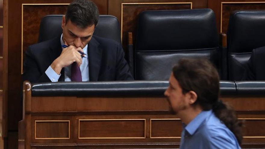 Pedro Sánchez y Pablo Iglesias se reúnen el jueves en la Moncloa