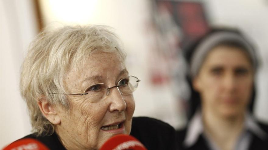 La periodista Teresa Aranguren
