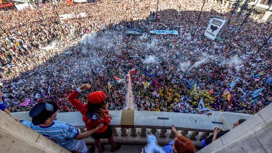 Bilbao se rinde al reinado de Marijaia y sus nueve días de fiesta