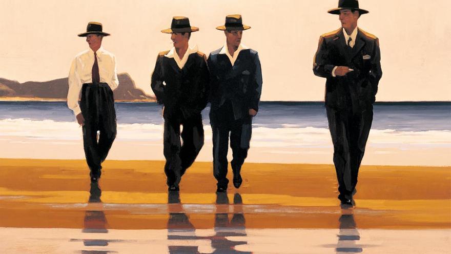 'The Billy Boys' de Vettriano se usó como portada de 'Los detectives salvajes' de Roberto Bolaño