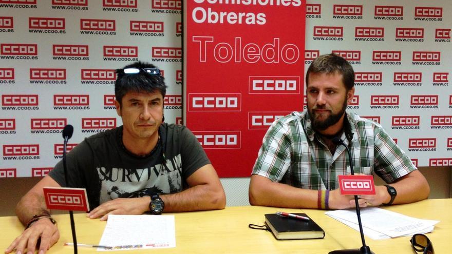 Rueda de prensa conductores CCOO-CLM