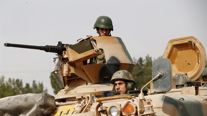 El ejército turco ataca doce posiciones del PKK en el norte de Irak