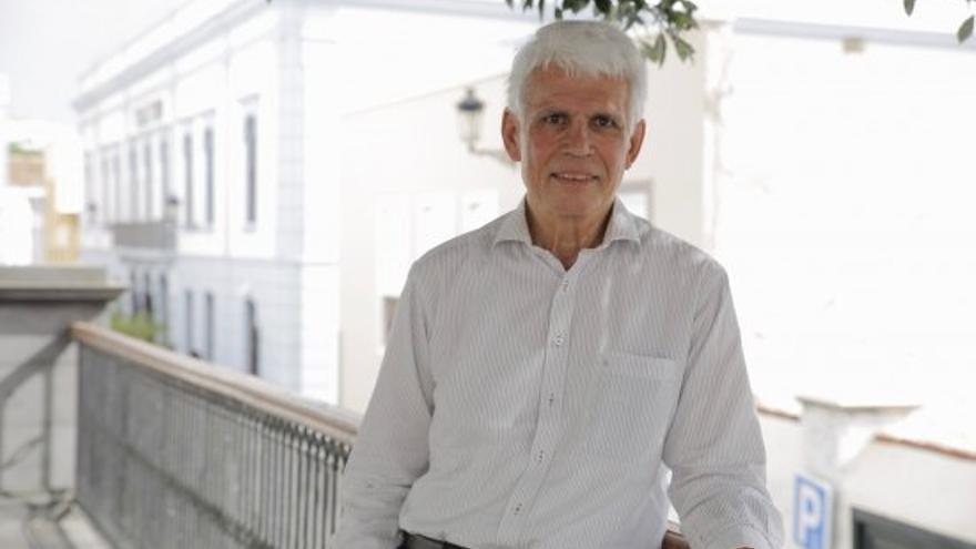 El científico Werner Hoffman es portavoz de la Red de Telescopios Cherenkov. Foto: IAC