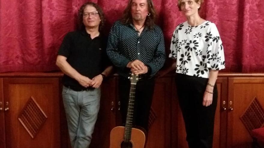 Nacho Pastor, Carlos Catana y Esther Cabrera.