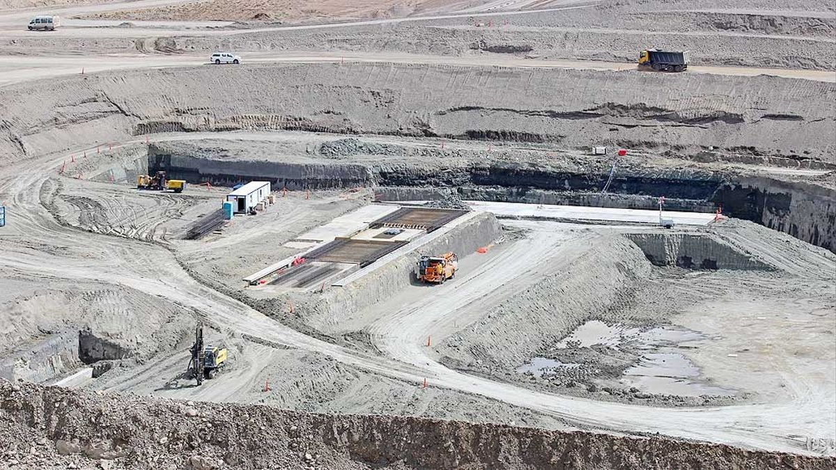 Construcción de represas en Santa Cruz