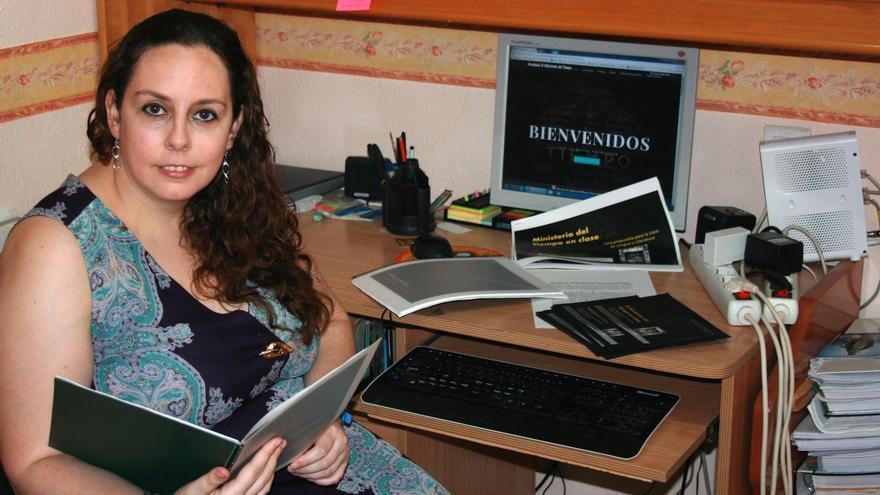 Rosa María Rodríguez, la profesora onubense que ha aplicar el original método.