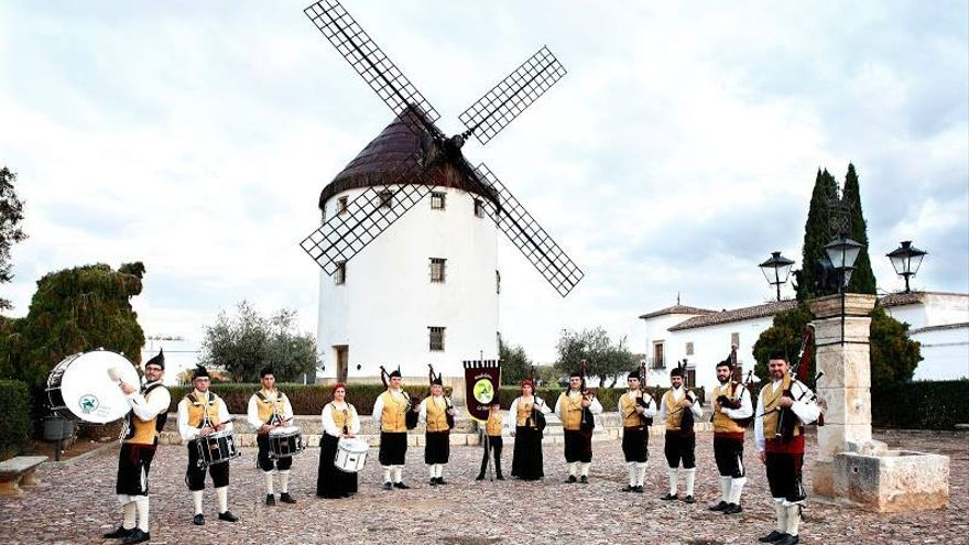 FOTO: Facebook Banda de Gaitas La Mancha