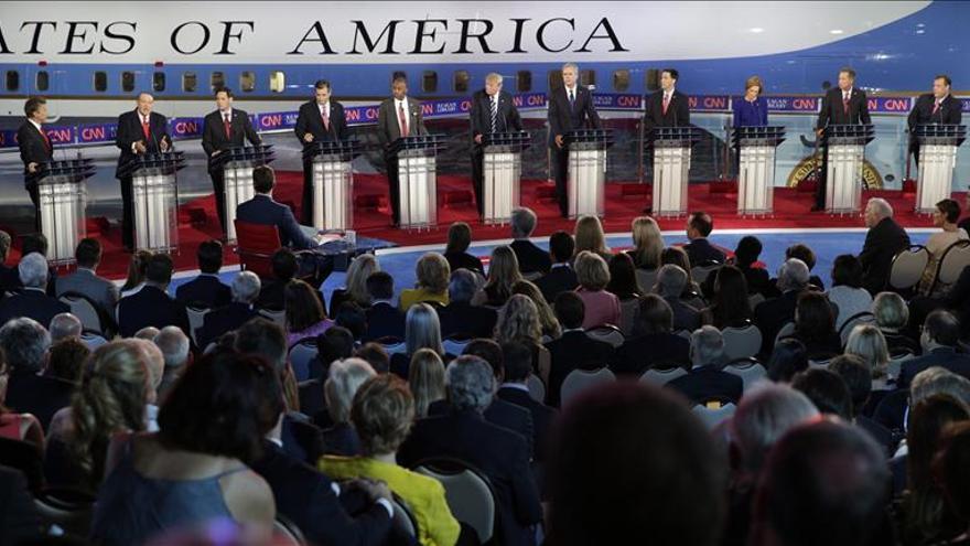 Trump se desinfla en el segundo debate republicano