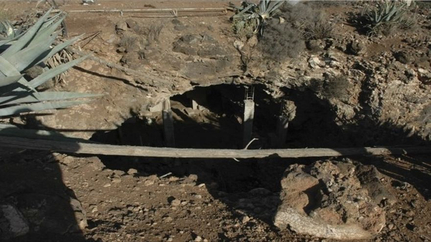 Cueva de los Clérigos de Gran Canaria.