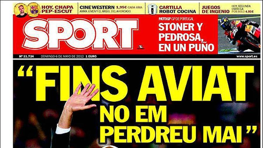 De las portadas del día (06/05/2012) #14
