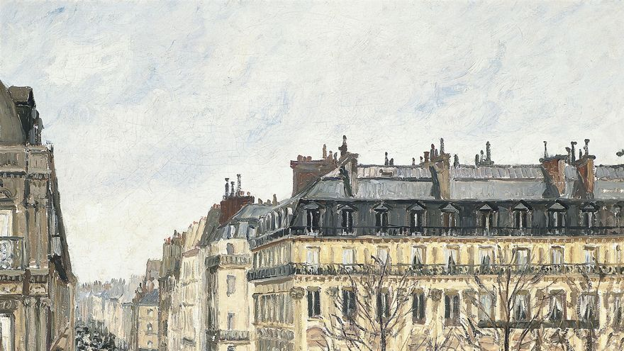 'Rue Saint-Honoré por la tarde. Efecto de Lluvia'