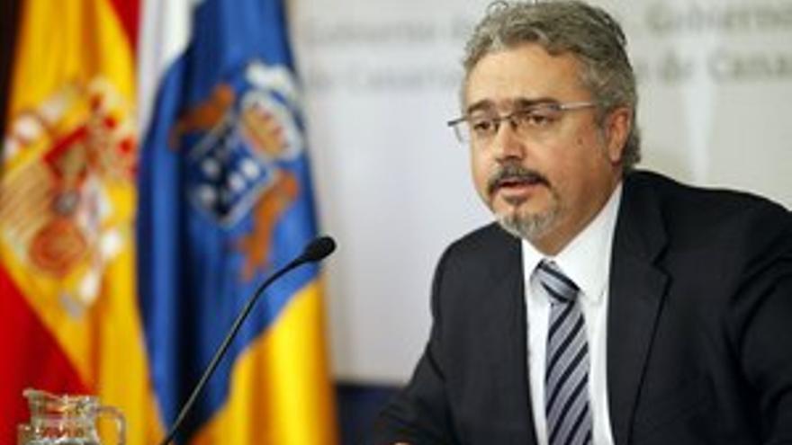 Martín Marrero, portavoz del Gobierno de Canarias.