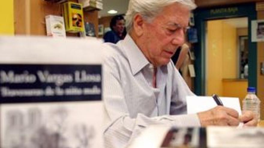 Mario Vargas Llosa. (EUROPA PRESS)
