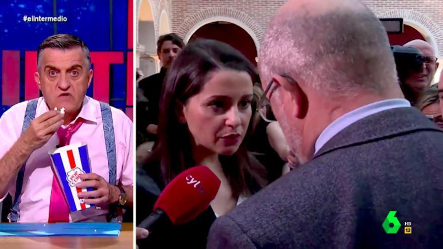 """Wyoming analizó el """"reality show"""" de Ciudadanos a través del encuentro entre Inés Arrimadas y Francisco Igea"""