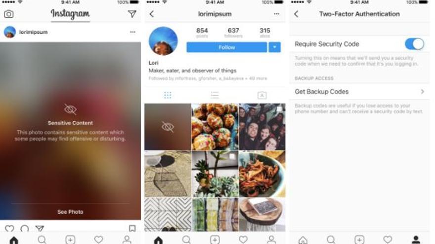 Así cubrirá Instagram las imágenes sensibles