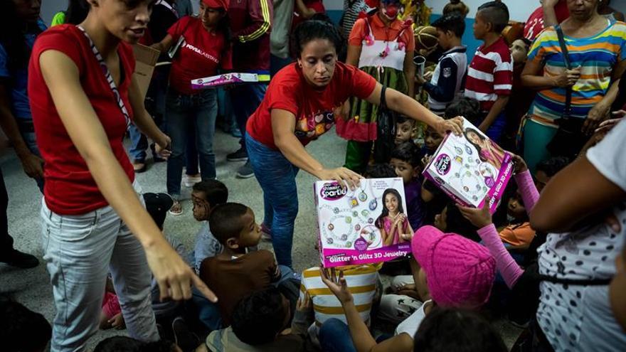 El Niño Jesús dejará pocos regalos en Caracas pese a los esfuerzos del Gobierno