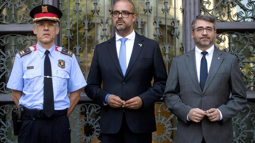 El conseller Buch nombra a Miquel Esquius nuevo jefe de los Mossos d'Esquadra