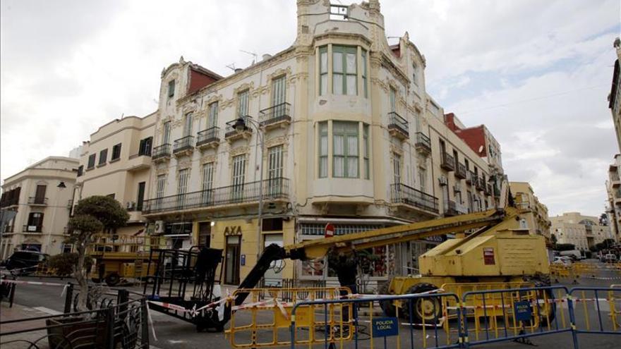 La fuerza del terremoto deja dañado el patrimonio modernista de Melilla