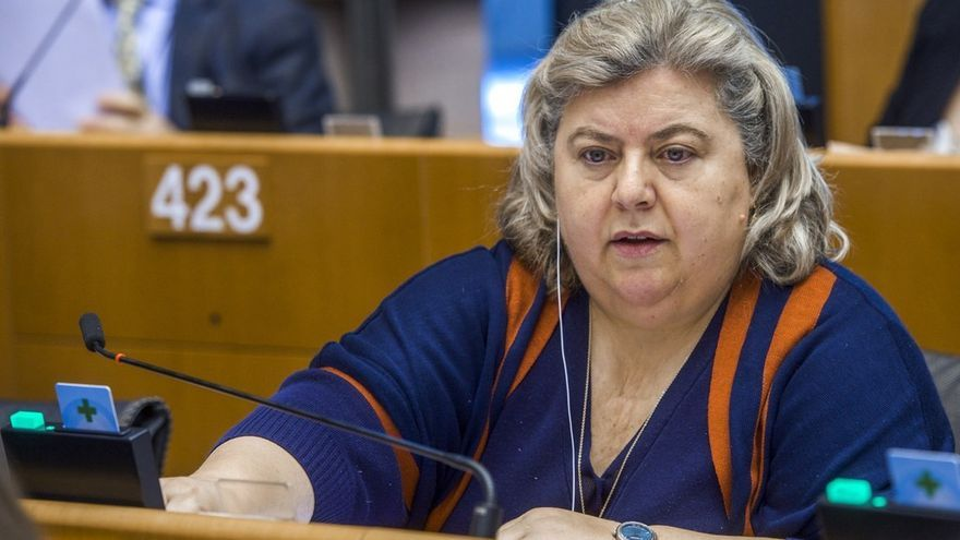 LA eurodiputada socialista Clara Aguilera