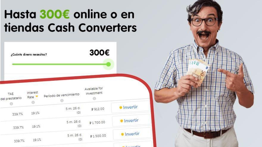 Publicidad de una de las empresas que vuelca sus préstamos en Mintos y permite invertir a particulares