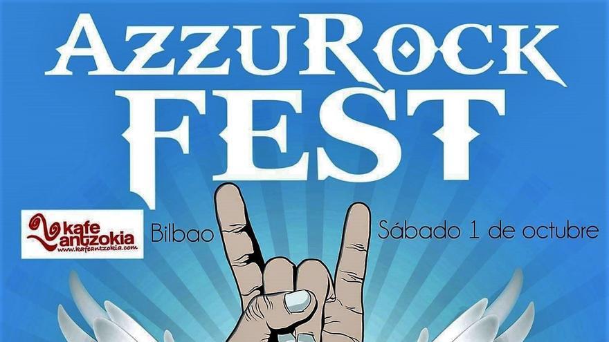 AzzurRock Fest. Kafe Antzokia Bilbao 1 de octubre