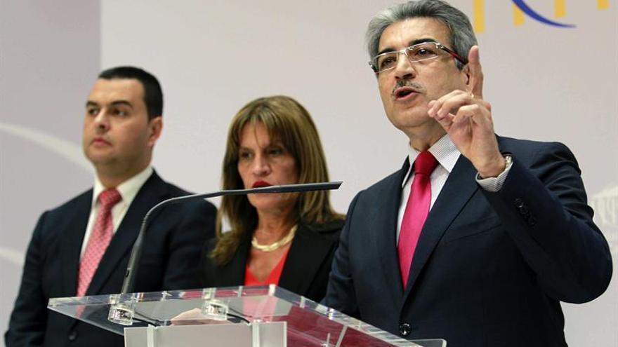El presidente de Nueva Canarias, Román Rodríguez. EFE/Cristóbal García.