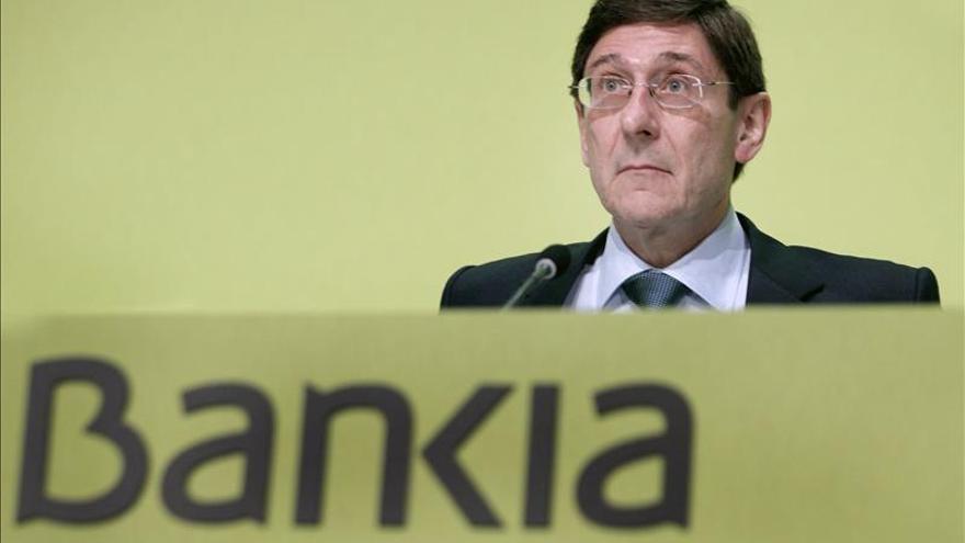 Goirigolzarri dice que Bankia tiene el reto de ayudar a mejorar la credibilidad bancaria