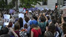 Cerca de 2.000 personas protestan en Santander por la libertad provisional de 'la manada'