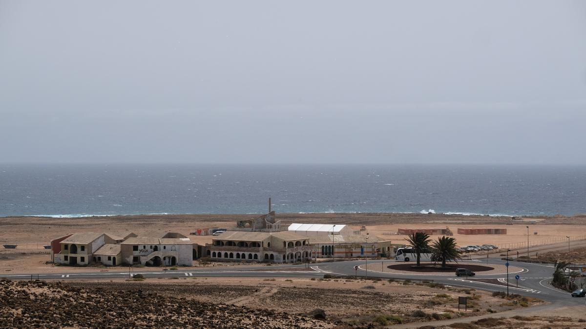 Estado actual de Parque Holandés, en Fuerteventura.